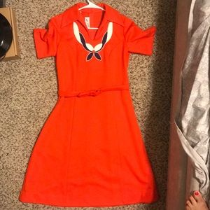 Rare and beautiful vintage dress. Size 12